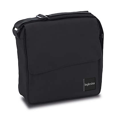 Inglesina Quad Diaper Bag in Total Black