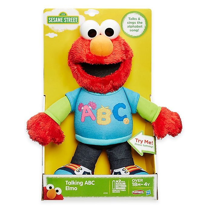 Sesame Street Talking Abc Elmo Bed Bath Beyond