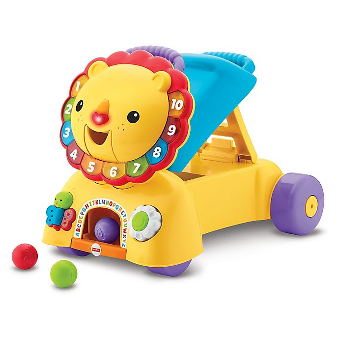Alternate image 1 for Fisher-Price® 3-in-1 Sit, Stride & Ride Lion