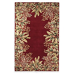 KAS Tropical Border Area Rug