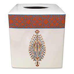 Dena™ Home Kaiya Ceramic Boutique Tissue Box Cover in Rust