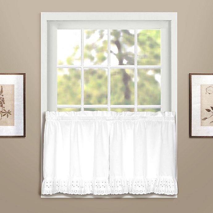 Alternate image 1 for Vienna Window Curtain Tier Pair