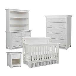 Ti Amo Nursery Furniture Collection with Carino 4-In-1 Crib in Snow White