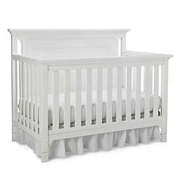 Ti Amo Carino 4-In-1 Convertible Crib in Snow White
