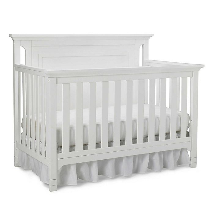 Alternate image 1 for Ti Amo Carino 4-In-1 Convertible Crib in Snow White