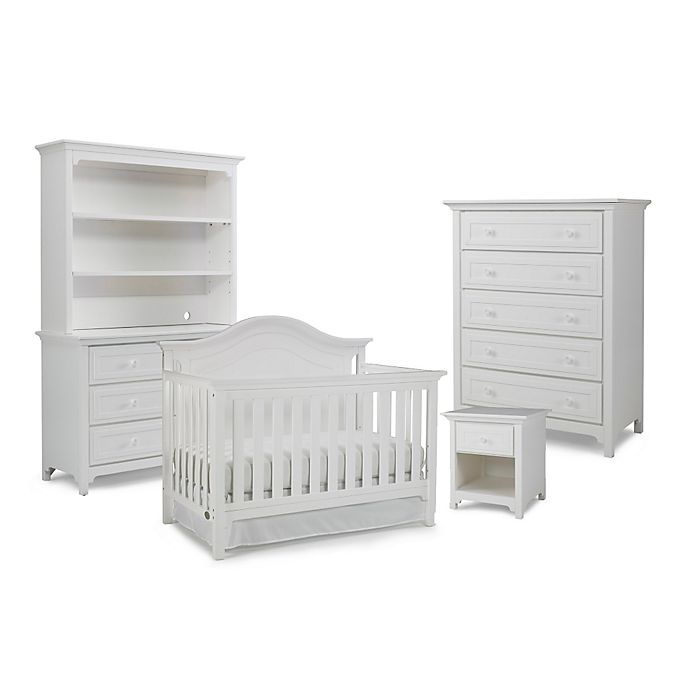 Alternate image 1 for Ti Amo Nursery Furniture Collection with Catania 4-In-1 Crib in Snow White