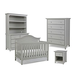 Ti Amo Nursery Furniture Collection with Catania 4-In-1 Crib in Misty Grey