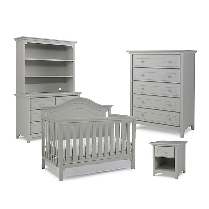 Alternate image 1 for Ti Amo Nursery Furniture Collection with Catania 4-In-1 Crib in Misty Grey
