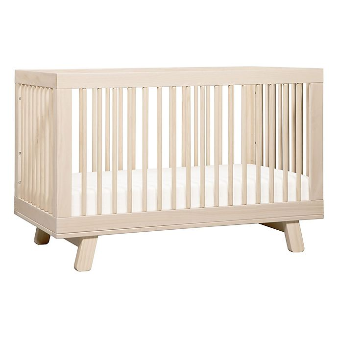 Alternate image 1 for Babyletto Hudson 3-in-1 Convertible Crib in Washed Natural