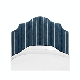 Skyline Furniture Nancy Headboard in Fritz Indigo