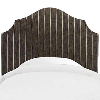 Skyline Furniture Nancy Headboard in Fritz Peppercorn