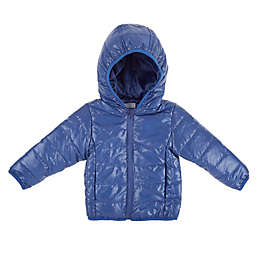 Only Kids Packable Coat with Bag in Navy