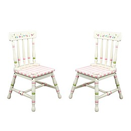 Teamson Fantasy Fields Bouquet Chairs (Set of 2)