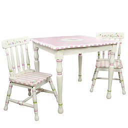 Teamson Fantasy Fields Bouquet 3-Piece Table and Chairs Set