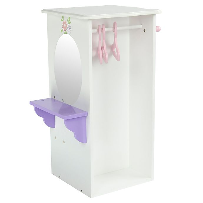Alternate image 1 for Olivia's Little World Little Princess Doll Furniture 18-Inch Dresser with Hangers