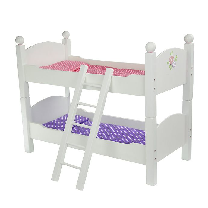 Alternate image 1 for Olivia's Little World Little Princess Doll Furniture 18-Inch Double Bunk Bed