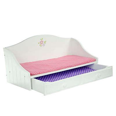 Olivia's Little World Little Princess Doll Furniture 18-Inch Trundle Bed