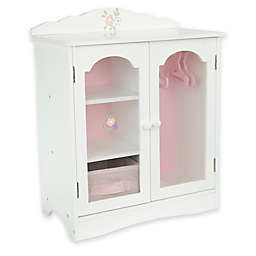 Olivia's Little World Little Princess Doll Furniture 18-Inch Fancy Closet