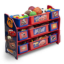 Delta Cars 9-Bin Multicolored Organizer