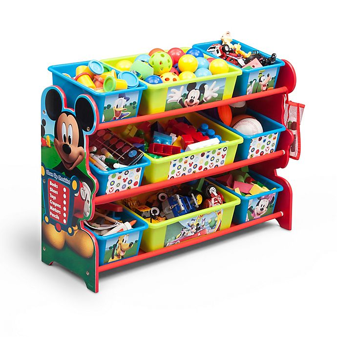 Surprising Delta Mickey Mouse 9 Bin Multicolor Organizer Bed Bath Pdpeps Interior Chair Design Pdpepsorg