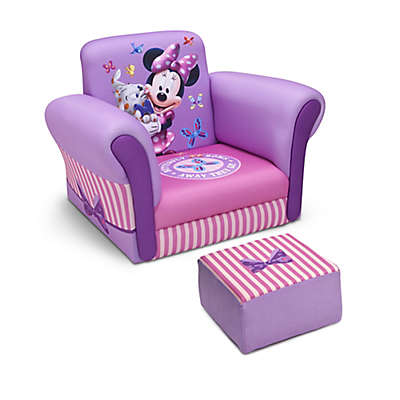 Delta™ Disney® Minnie Mouse Upholstered Chair with Ottoman
