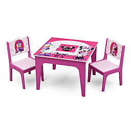 Delta™ Disney® Minnie Mouse 3-Piece Deluxe Table and Chair Set
