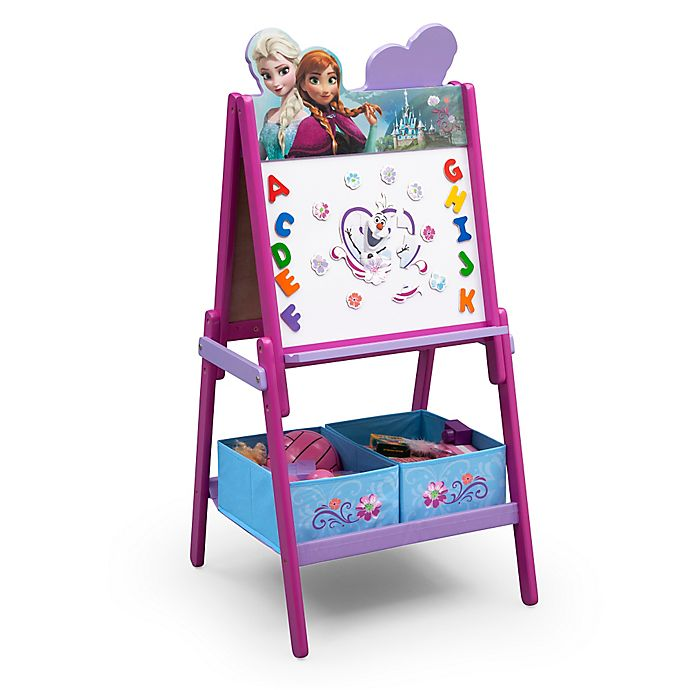 Alternate image 1 for Delta™ Disney® Frozen Wooden Activity Easel with Storage