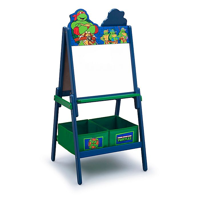 Alternate image 1 for Delta™ Teenage Mutant Ninja Turtles Wooden Activity Easel with Storage