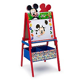 Delta Children Disney® Mickey Mouse Wooden Activity Easel with Storage