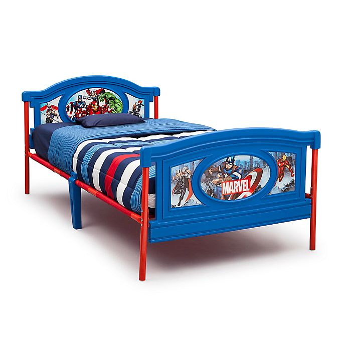 Alternate image 1 for Delta Children Marvel® Avengers Twin Bed