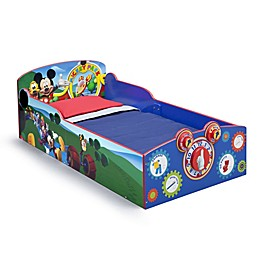 Delta Disney® Mickey Mouse Wooden Interactive Toddler Bed