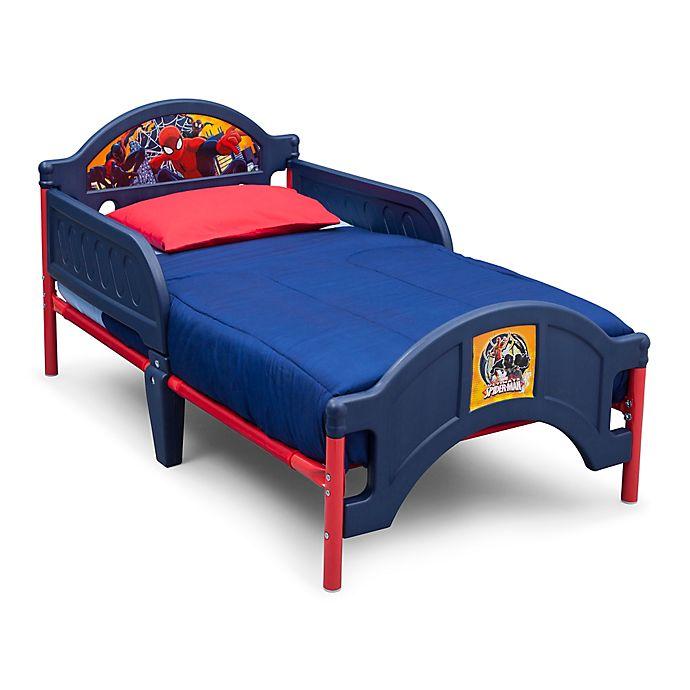 Alternate image 1 for Marvel Spider-Man Plastic Toddler Bed by Delta Children