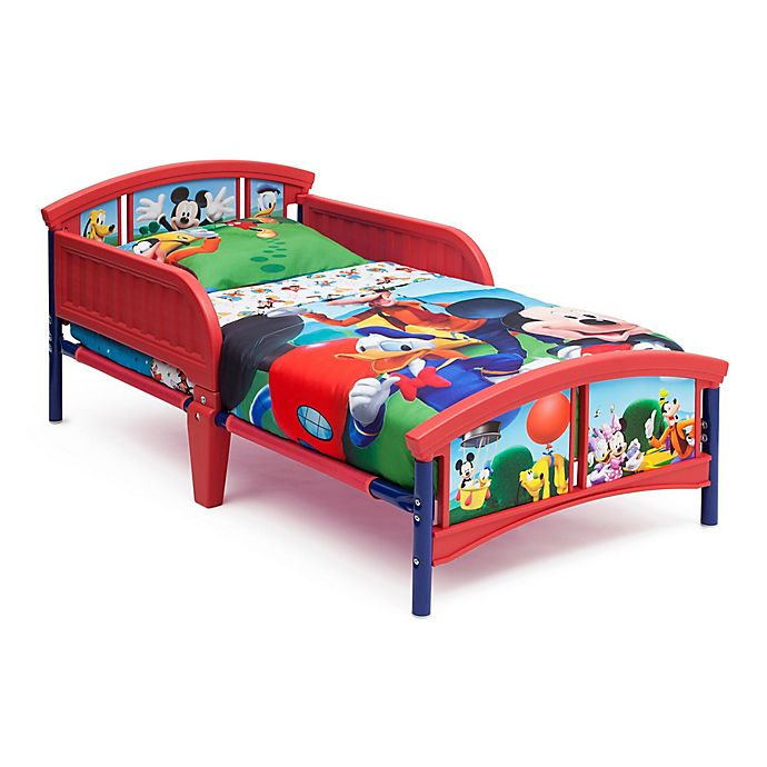Alternate image 1 for Delta© Disney© Mickey Mouse Plastic Toddler Bed