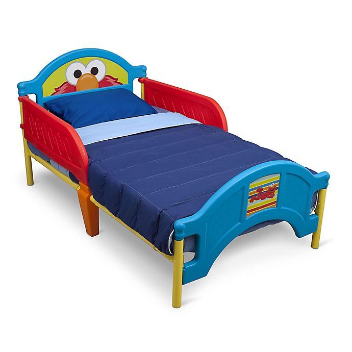 Alternate image 1 for Delta™ Sesame Street® Plastic Toddler Bed