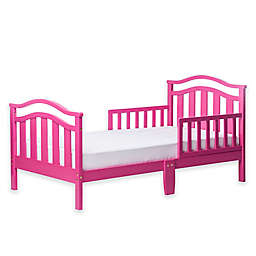 Dream On Me Elora Toddler Bed in Fuchsia