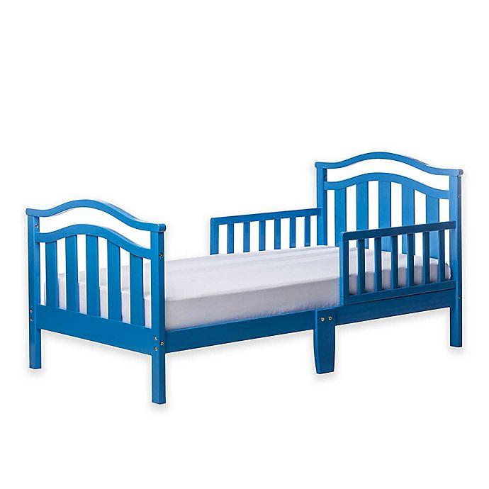 Alternate image 1 for Dream On Me Elora Toddler Bed in Blue