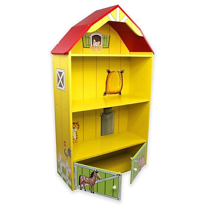 Alternate image 1 for Teamson Kids Fantasy Fields Happy Farm Bookcase