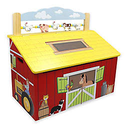 Teamson Fantasy Fields Happy Farm Toy Storage Box