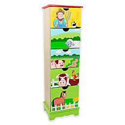 Teamson Fantasy Fields 5-Drawer Chest in Happy Farm