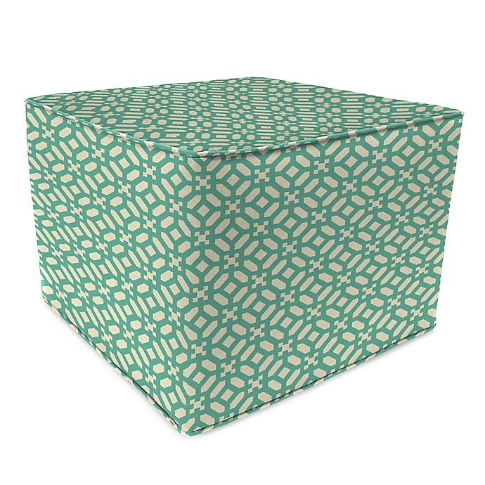 Alternate image 1 for Print 20-Inch Square Pouf