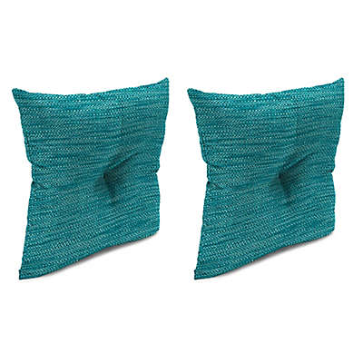 Solid Tufted 16-Inch Throw Pillows (Set of 2)