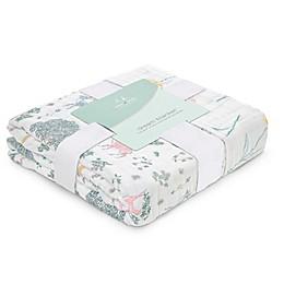 aden + anais® Forest Fantasy Muslin Baby Blanket in Pink
