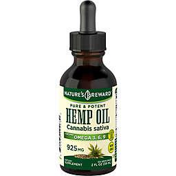 Nature's Reward® 2 oz. 925 mg. Hemp Seed Oil