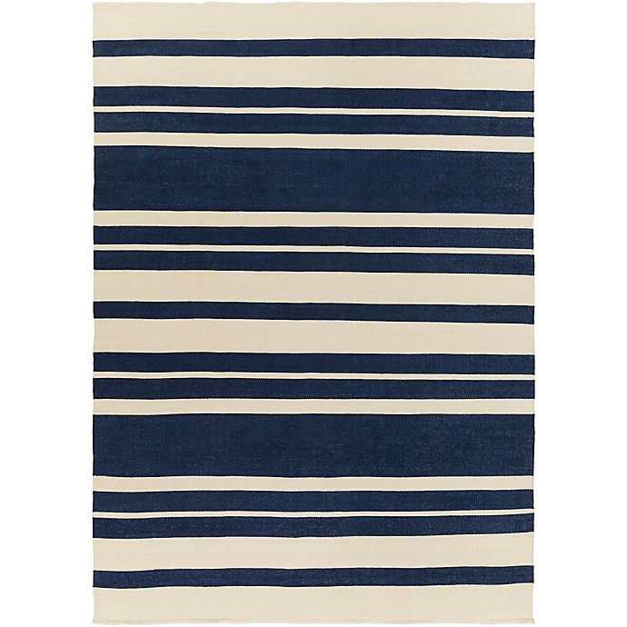 Alternate image 1 for Surya Corniston 8-Foot x 11-Foot Indoor/Outdoor Area Rug in Navy