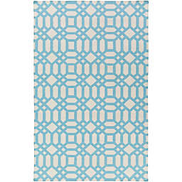 Style Statements by Surya Zunyi Indoor/Outdoor Rug in Sky Blue