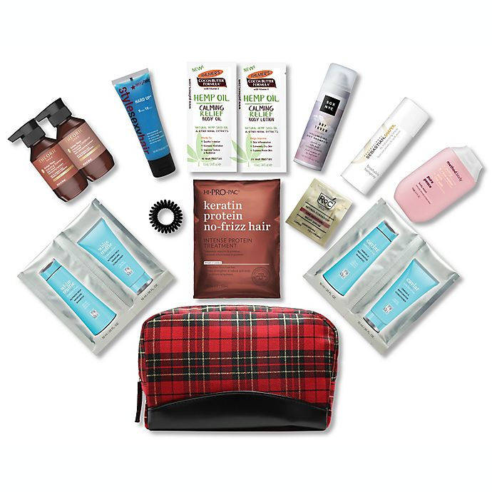 Alternate image 1 for 15-Piece Beauty Essentials Hair and Skin Bag