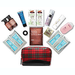 15-Piece Beauty Essentials Hair and Skin Bag