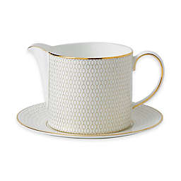 Wedgwood® Arris Gravy Boat with Stand