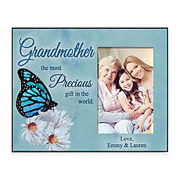 """""""If Grandmas Were Flowers We'd Pick You"""" 4-Inch x 6-Inch Picture Frame"""