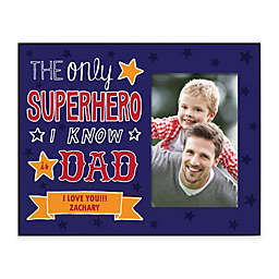 Superhero Dad 4-Inch x 6-Inch Picture Frame